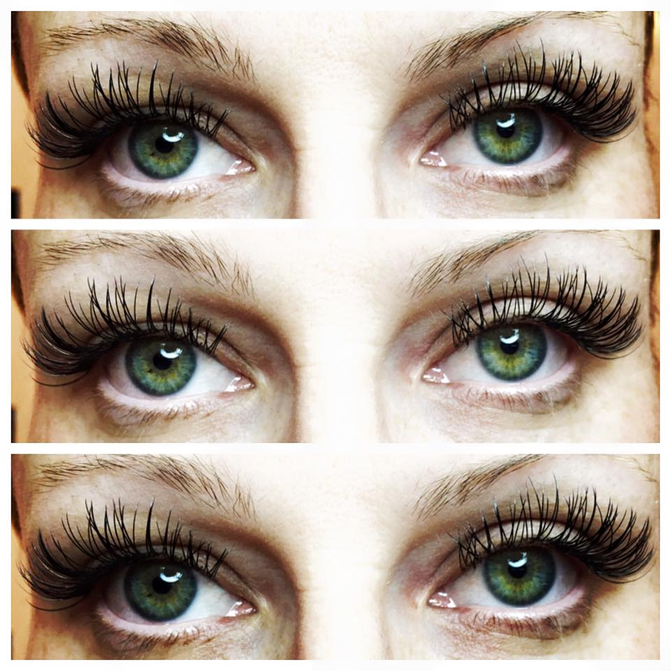 Lashes by Amy Miller at Blume Salon in Valencia CA just North of LA