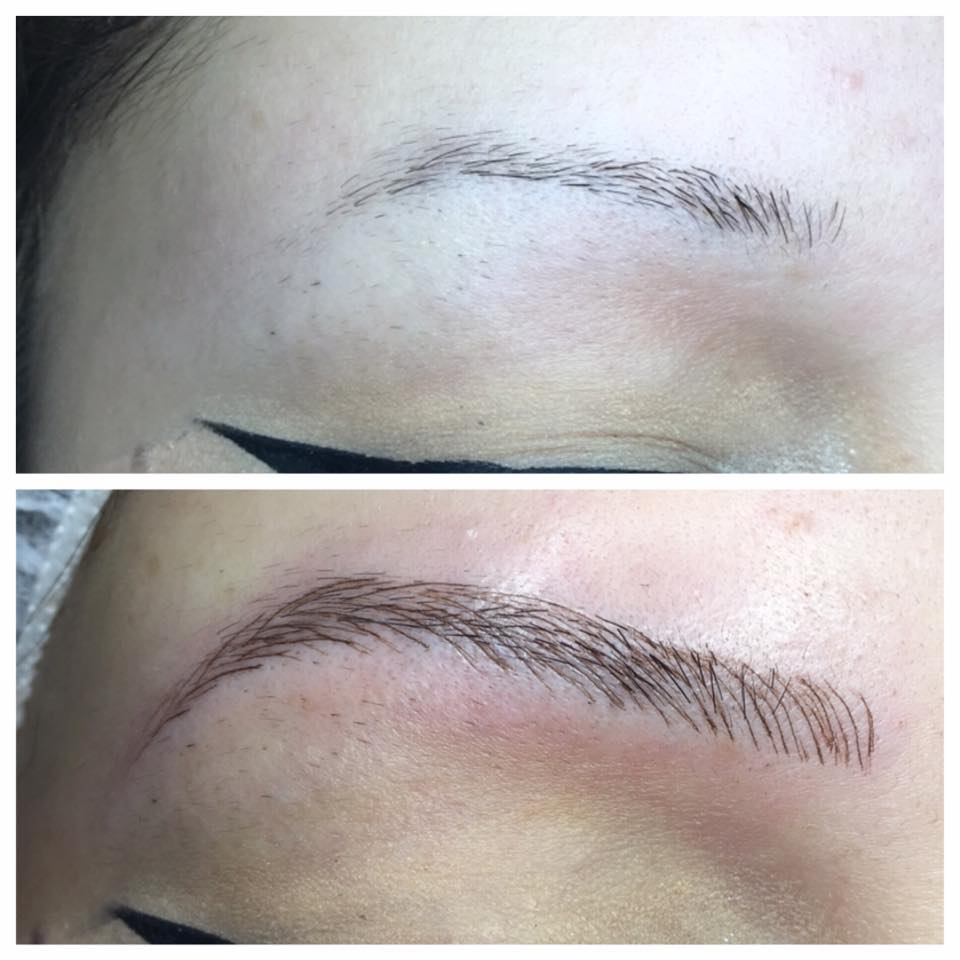 Stunning Microblading Brows by Amy Miller at Blume Salon