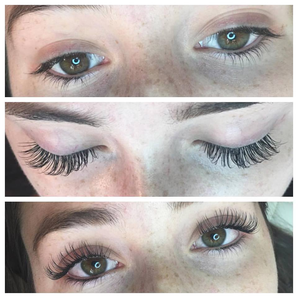 stunning Blume Lash Extensions by Amy Miller at Blume Salon just north of LA