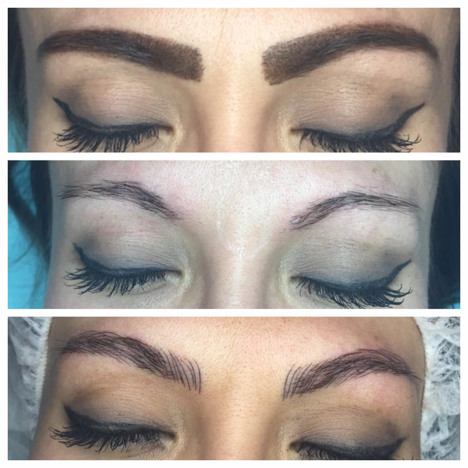 Microblading by Amy Miller at Blume Beauty Bar Salon just north of LA in Santa Clarita, CA
