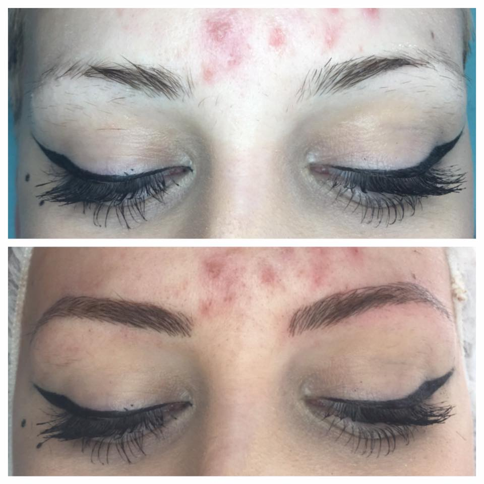 Stunning Beauty... Microblading by Amy Miller at Blume Beauty Bar in Santa Clarita CA
