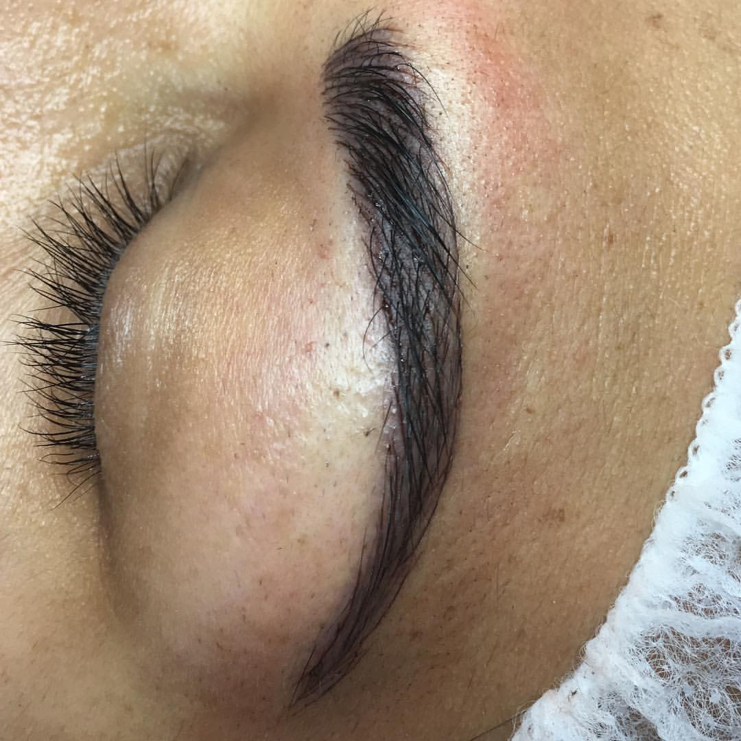 Beautiful Microblading at Blume Salon just a few miles from Newhall CA