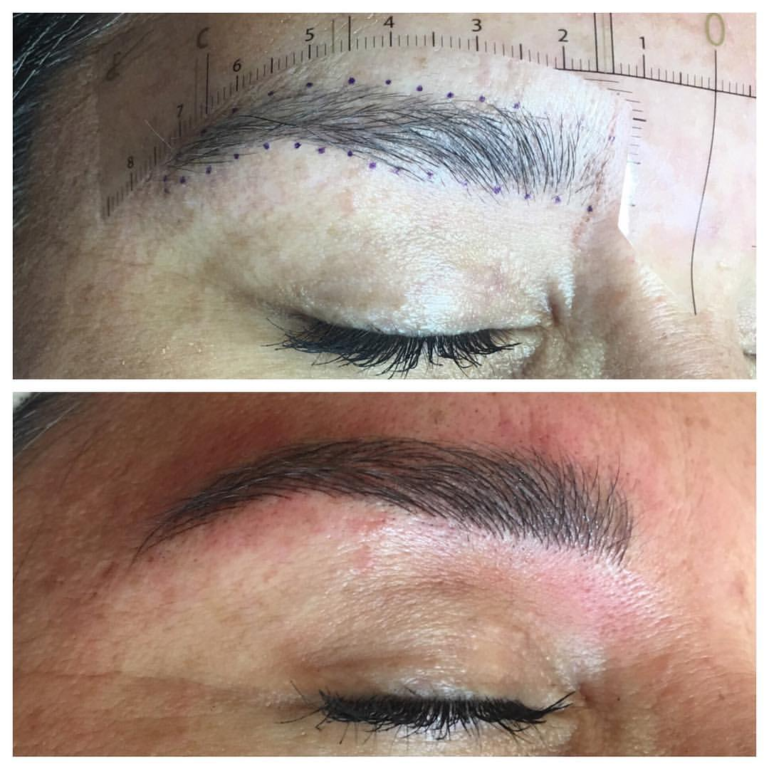 Microblading by Amy Miller at Blume Beauty Salon in Santa Clarita just a short drive from Stevensons Ranch CA