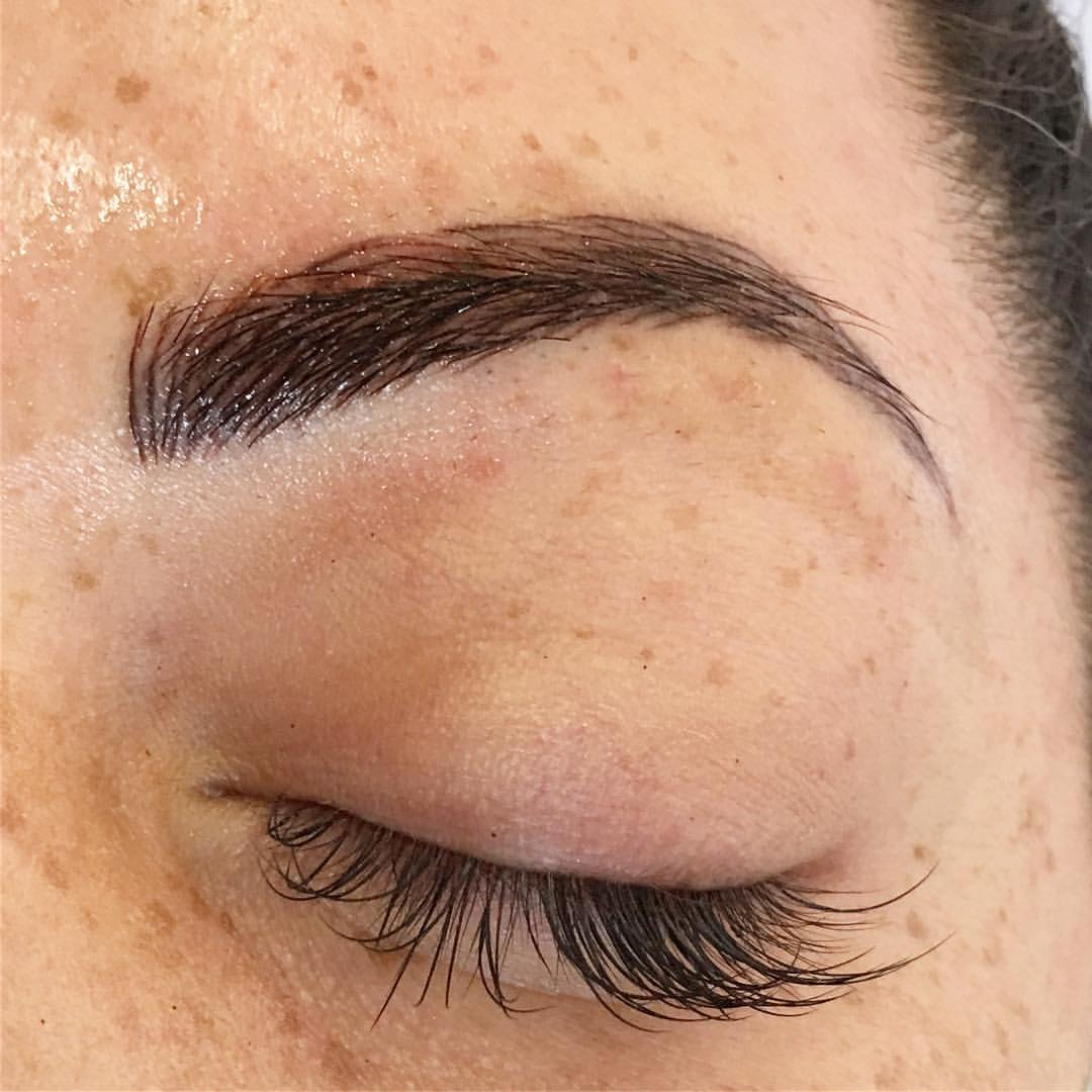 Microblading Magic by Amy Miller at Blume Beauty Bar located in Valencia CA a quick drive from Landcaster