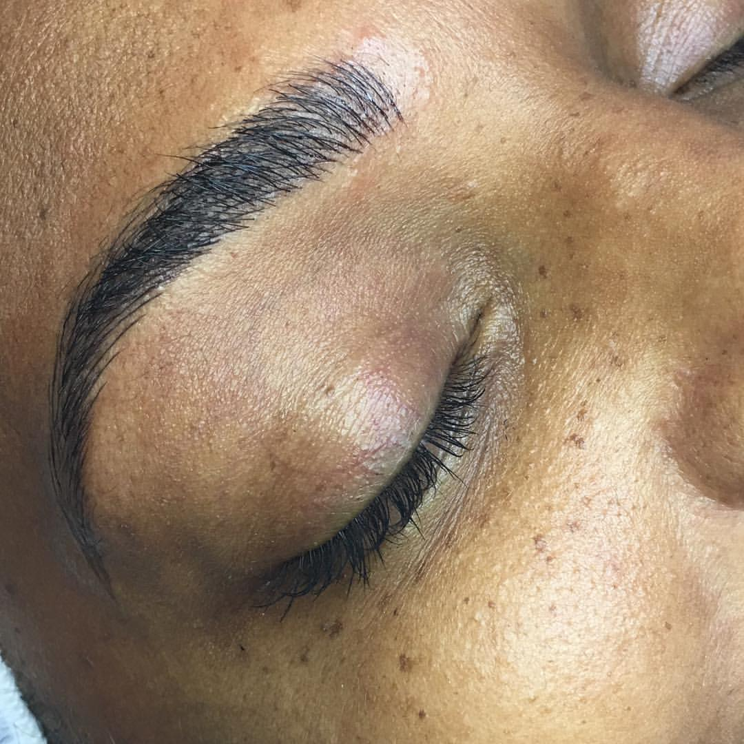Microblading by Amy Miller... Put your face in the hands of a Certified Everlasting Brows Microblading Artist like Amy.