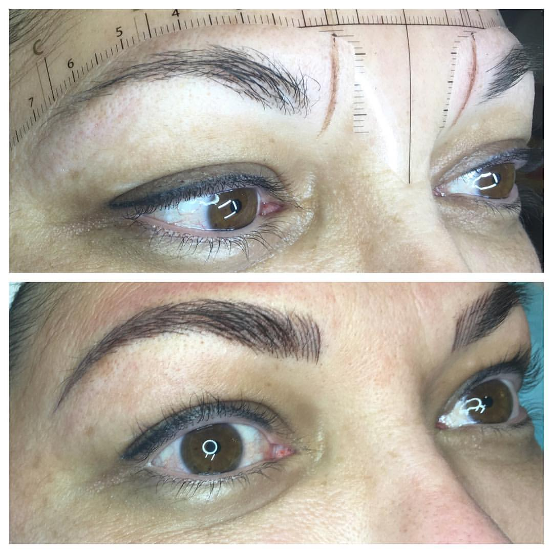 Stunning Perminate Makeup Microblading by Amy Miller at Blume Beauty Bar located near Stevensons Ranch, Santa CLarita