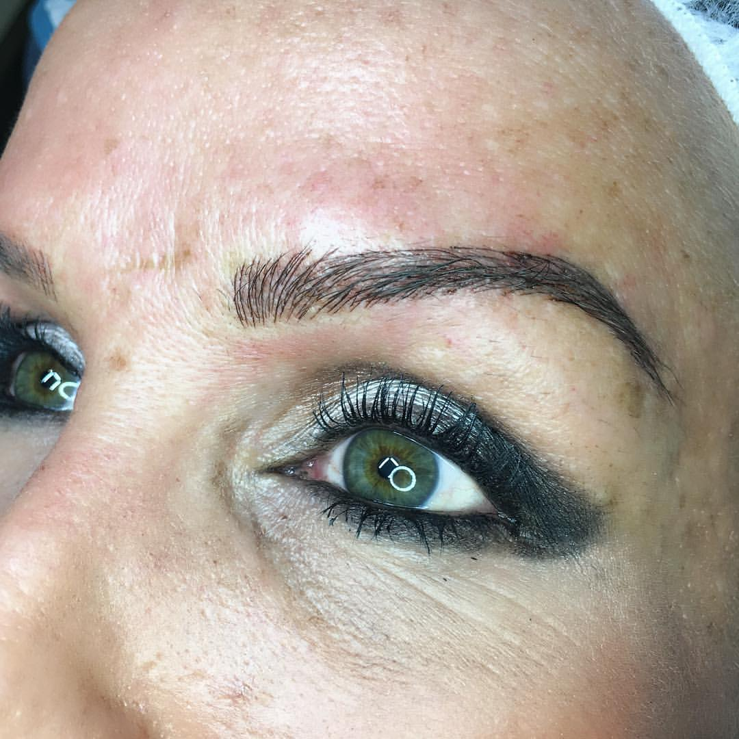 Beautiful microblading by Amy Miller at Blume Salon located just a short 35 mins from Venice Beach Ca in Valencia CA
