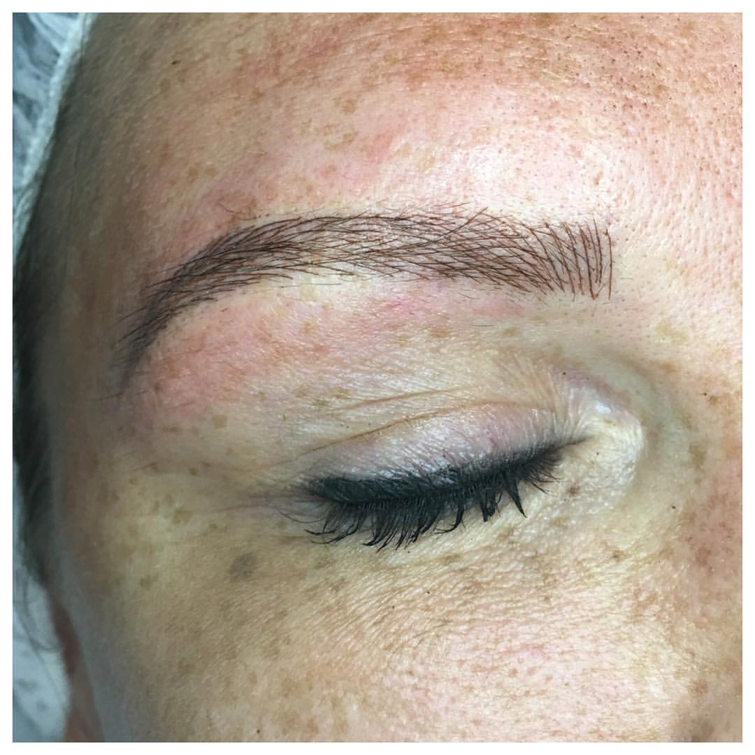 Fantastic! Beautiful! Stunning! Microbladed Brows by Amy miller at blume salon located in Santa Clarita just a few mins from Newhall