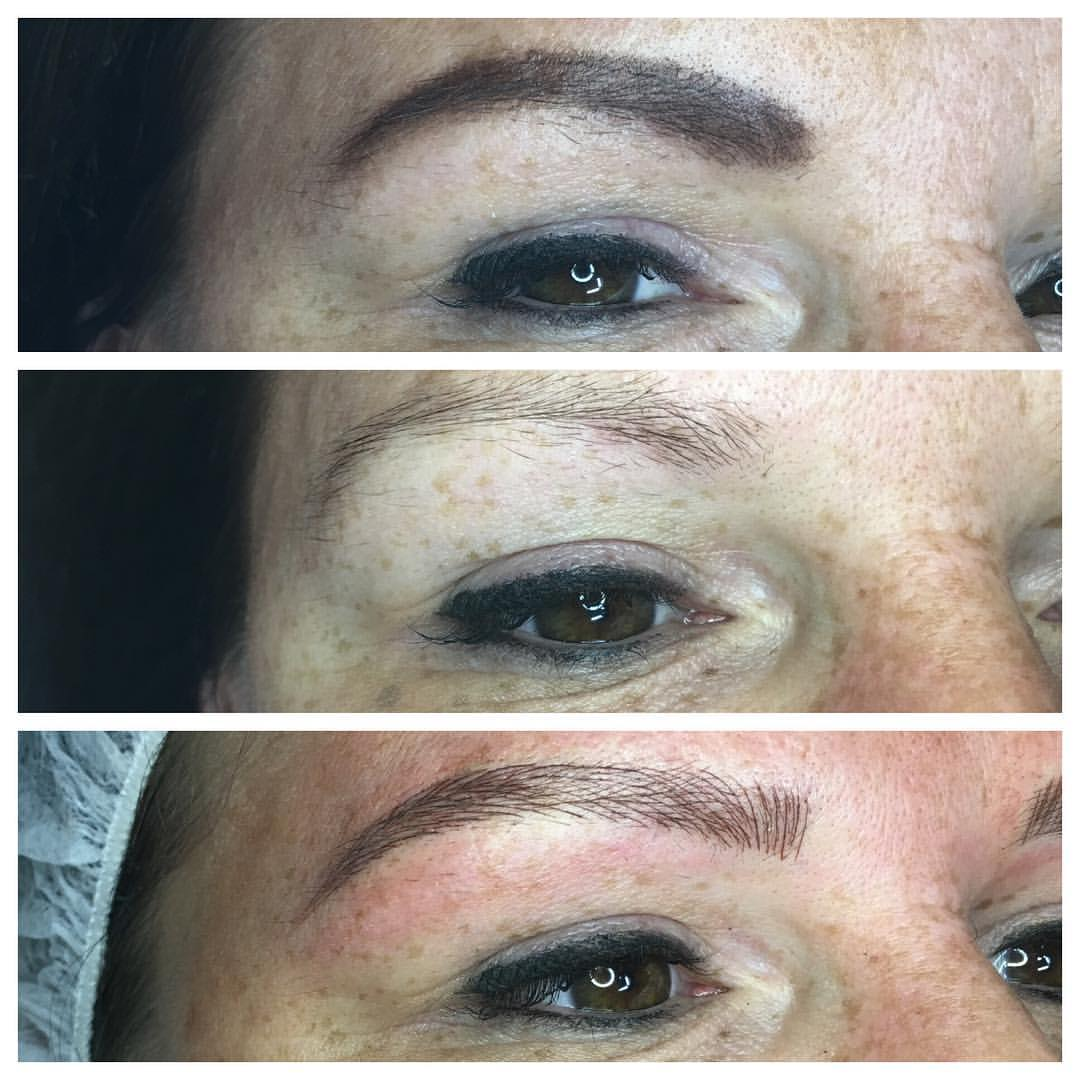 Amazing Microbladed Brows! These are the brows you dream about. Act now and Book Amy Miller at Blume Salon