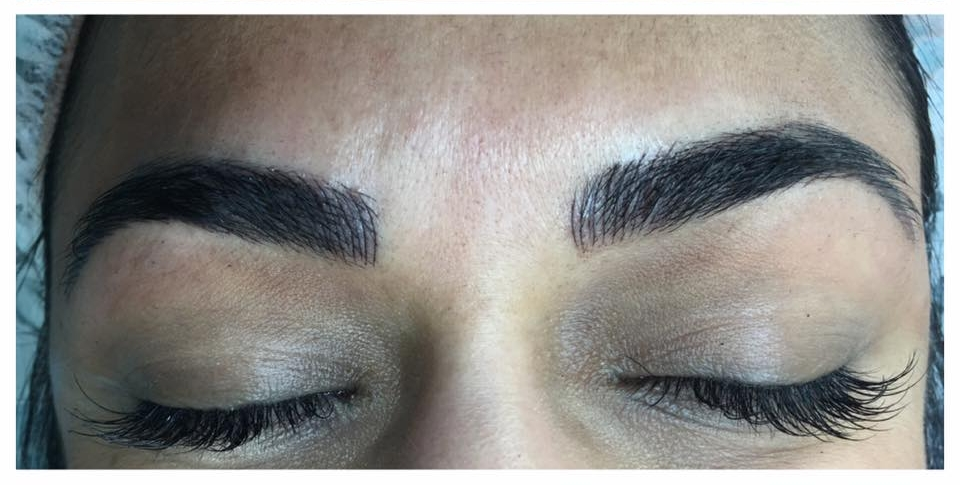 Microblading at Blume Salon Santa Clarita by Amy Miller