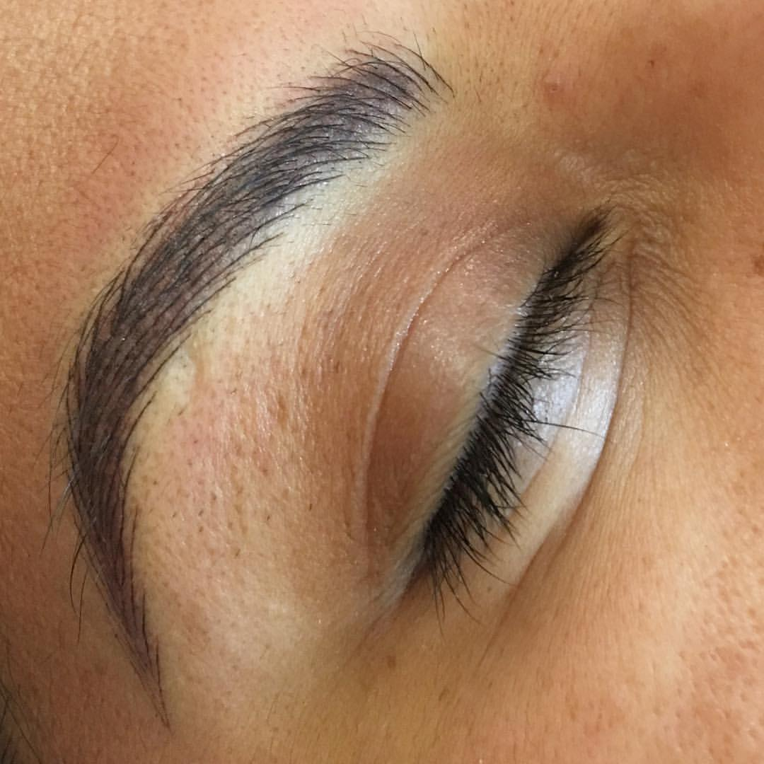 Eyebrow Microblading in Santa Clarita by Amy Miller at Blume Salon