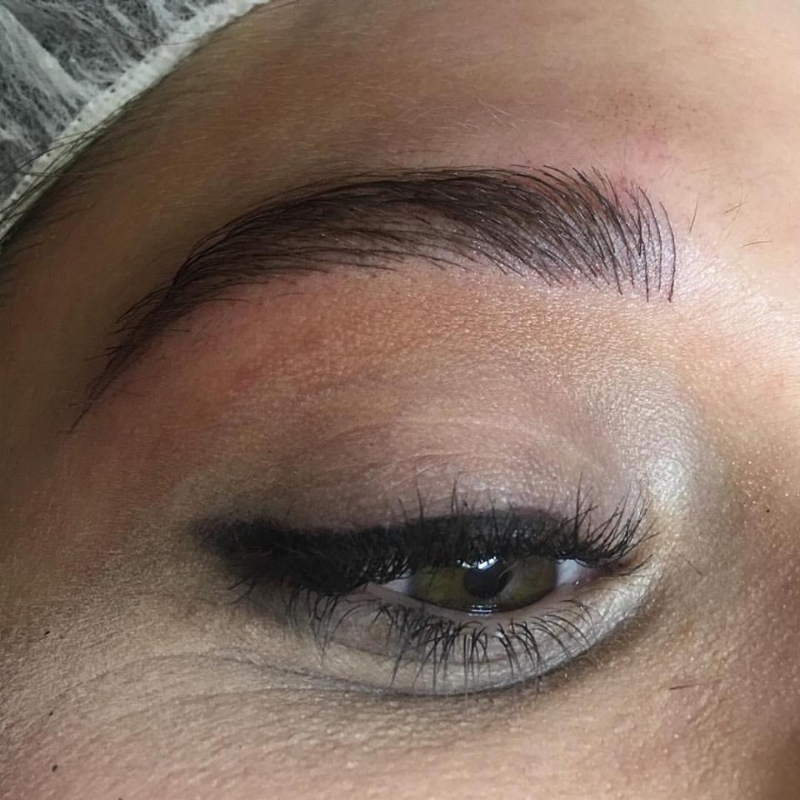 Newly Microbladed Brows By Amy Miller At Blume Salon