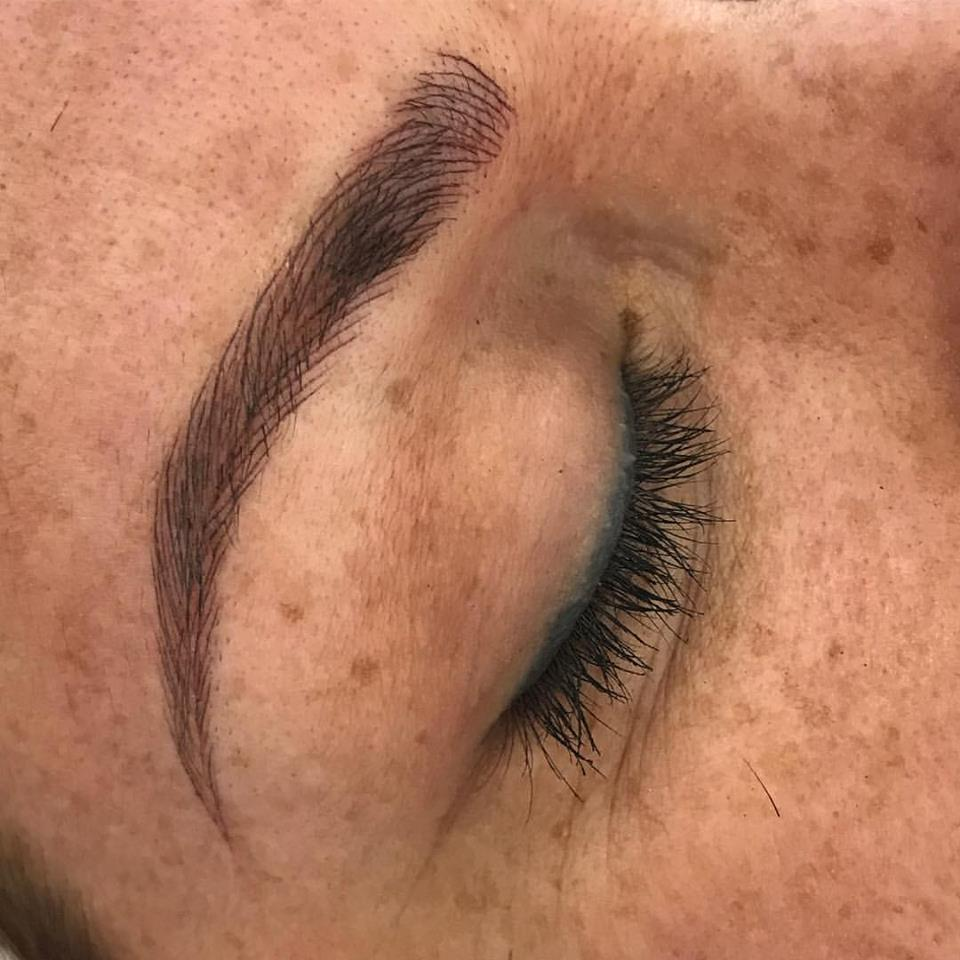 WOW. Microblading by Amy Miller at Blume beauty bar