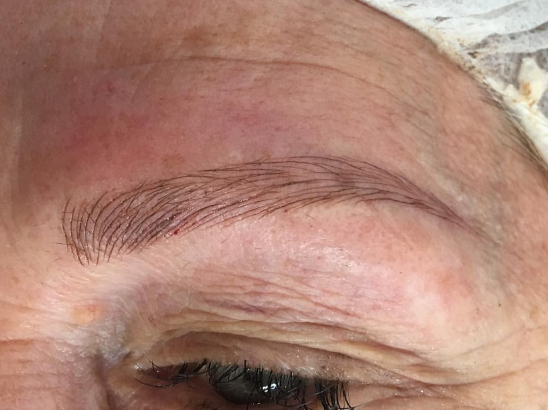 Microblading is for people of any age. Stop thinking about new brows and book your appointment with Amy Miller at Blume today