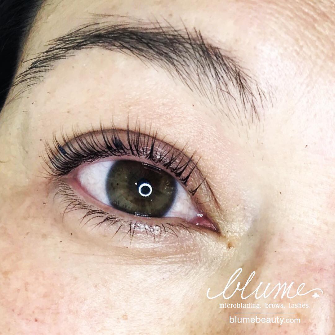Stunning New Lash Lift! Only At Blume Beauty