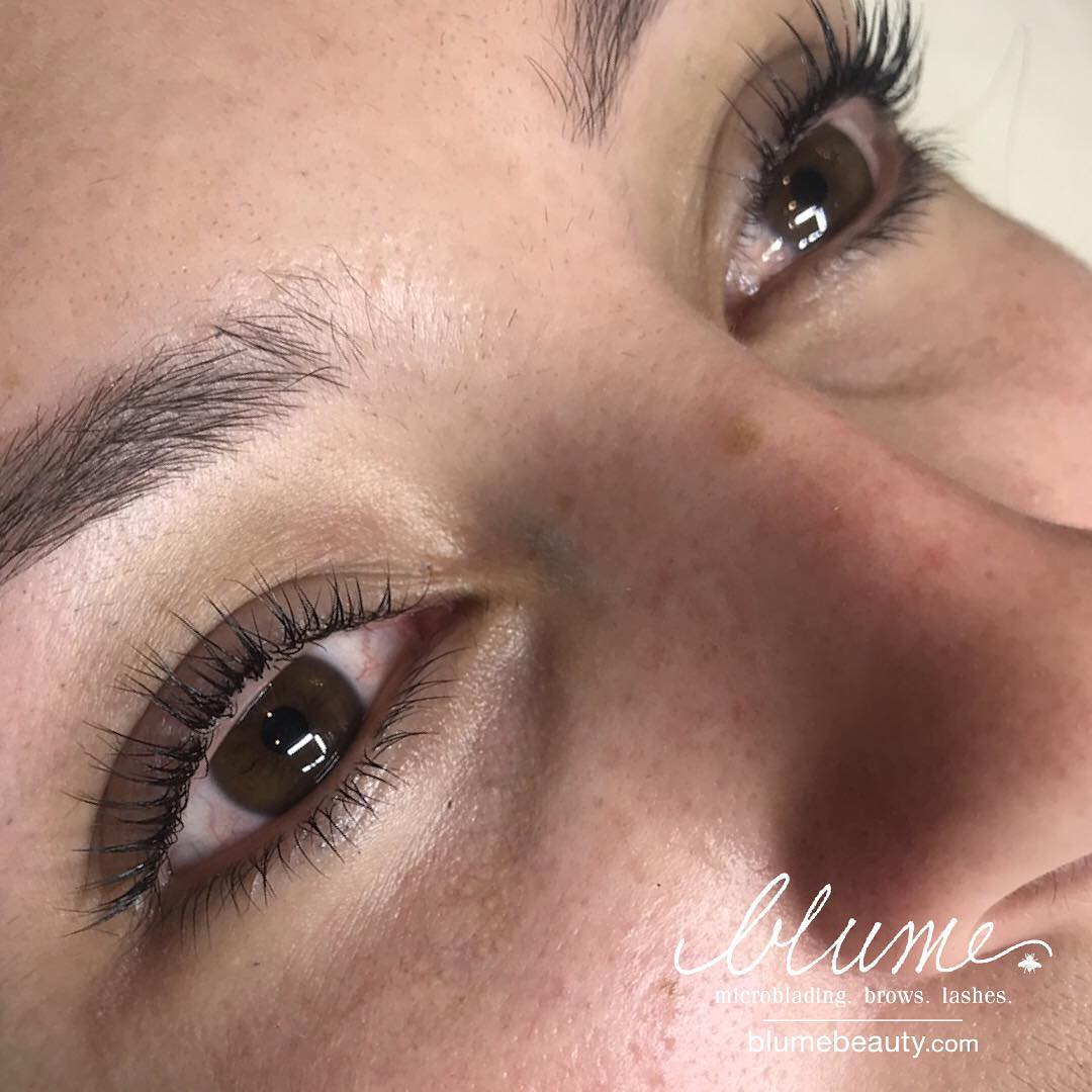 Natural Lash Lift by Amy Miller At Blume Beauty Bar