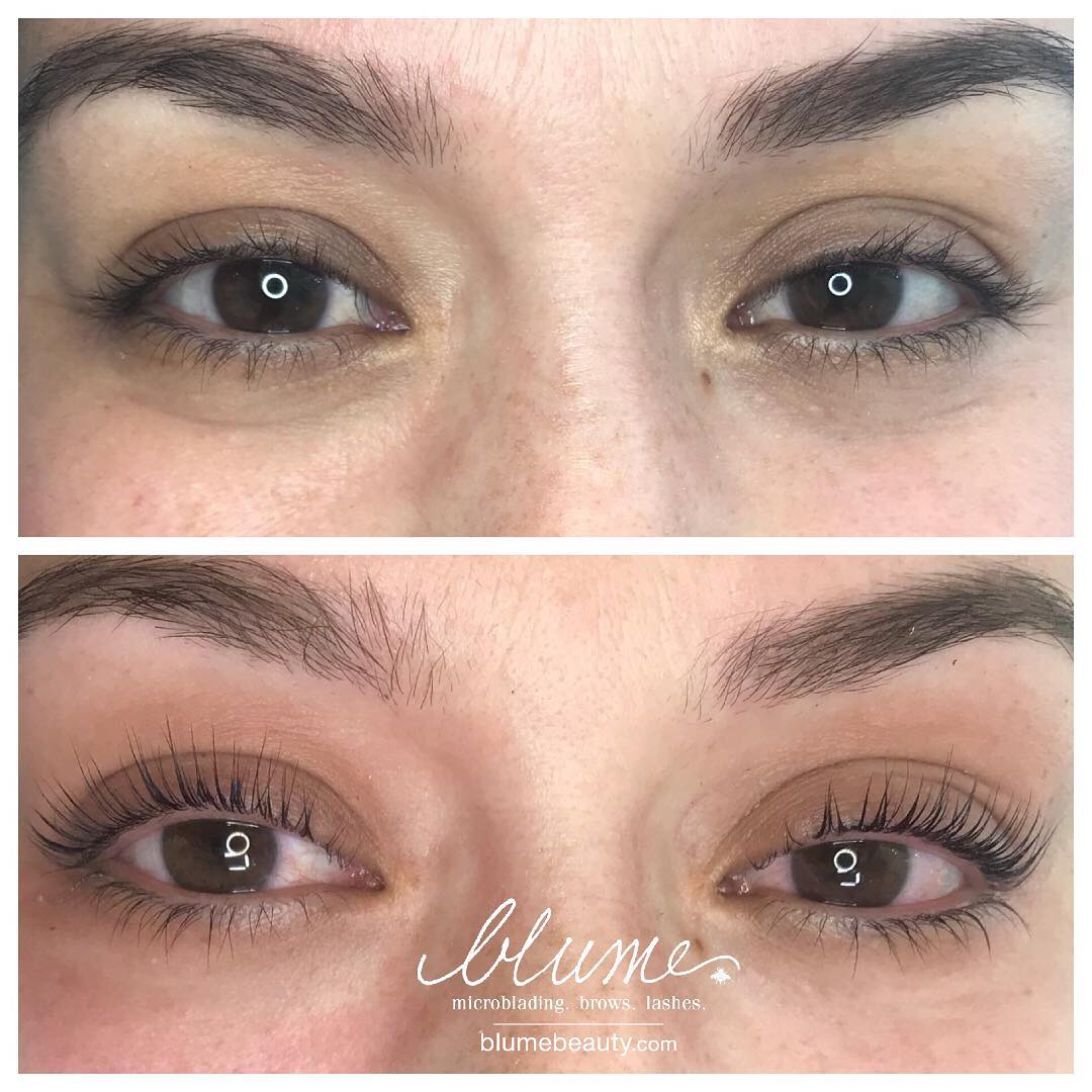 Newly Infused Luxe Keratin Lashes By Amy Miller At Blume Beauty Bar