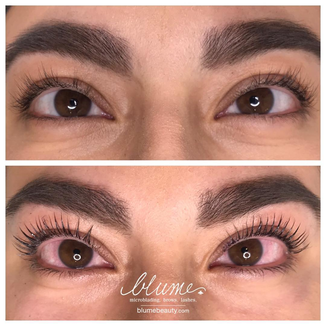 This is not your ordinary lift. Our patented process infuses REAL KERATIN into each lash | Keratin Lash Infusion