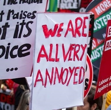 It is appropriate to feel angry if you feel strongly about something or feel an injustice has happened.