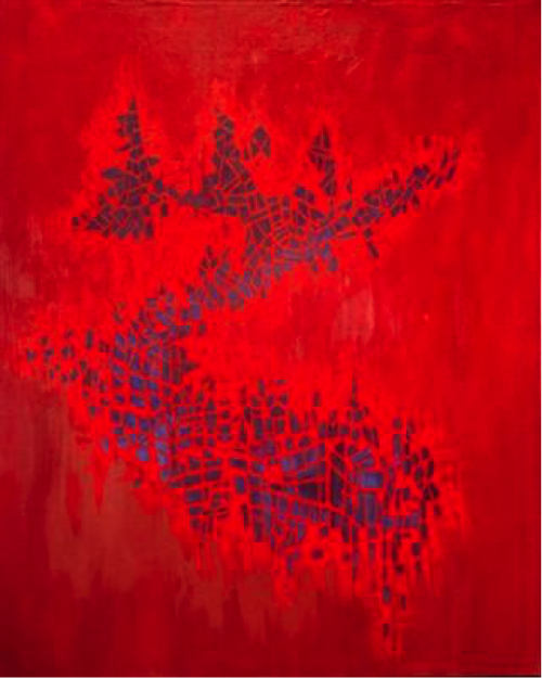 Norman Lewis, Serpentine, 1970, Oil on canvas, Courtesy of Bill Hodges Gallery, New York, New York.png