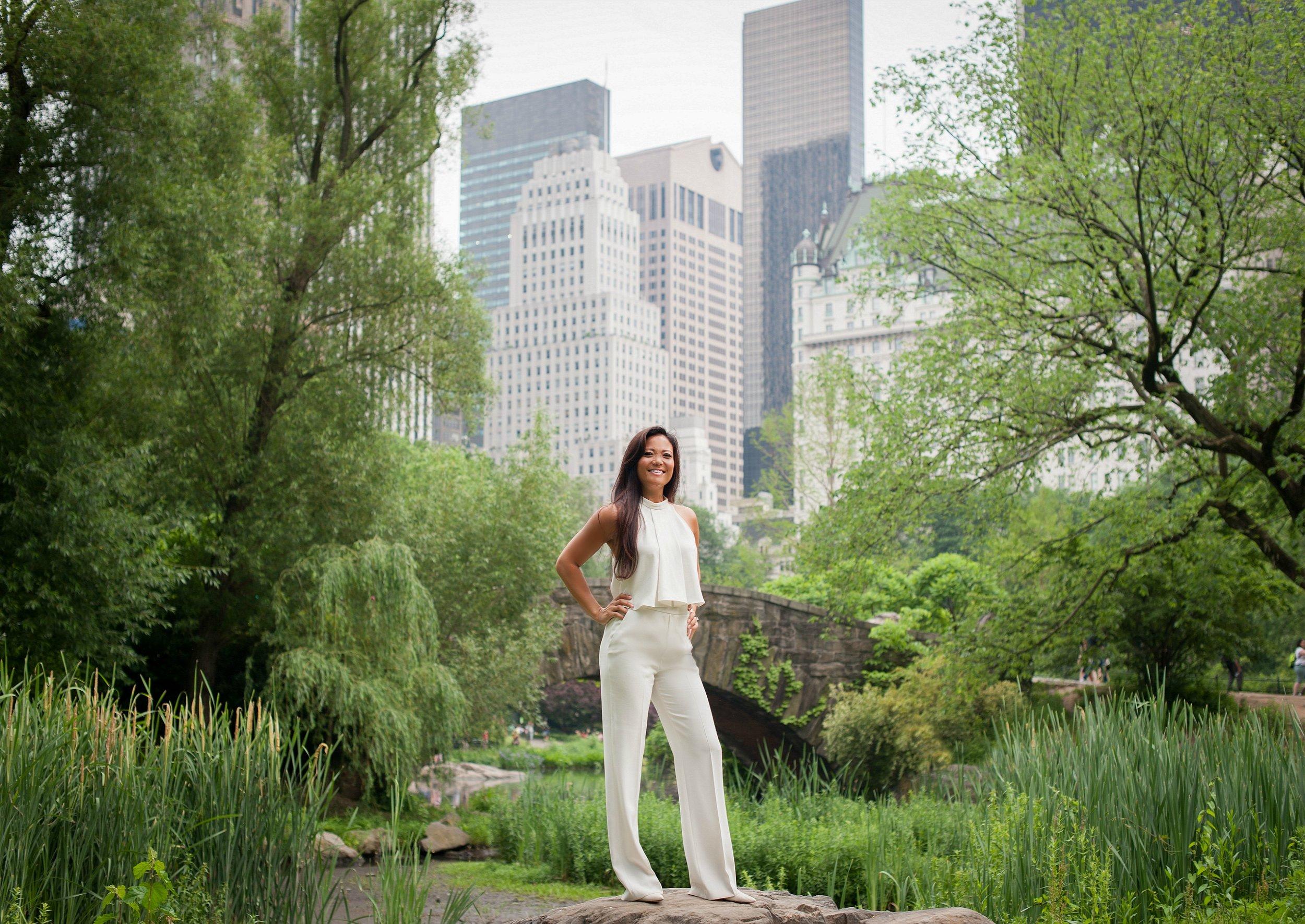 Krystal in the park