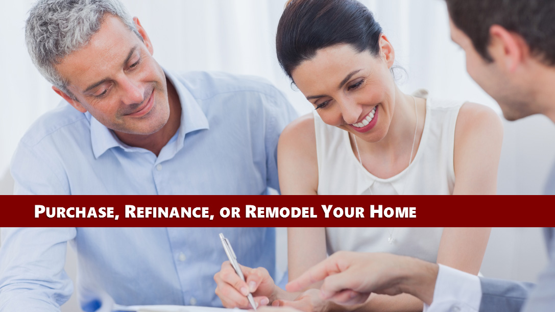 Link to lending section regarding home loans