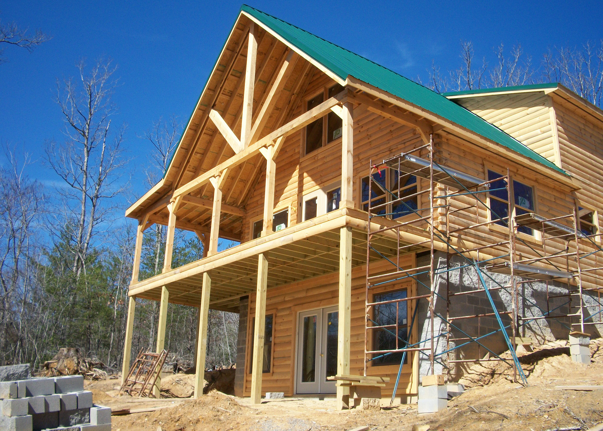 Example photo - build a house
