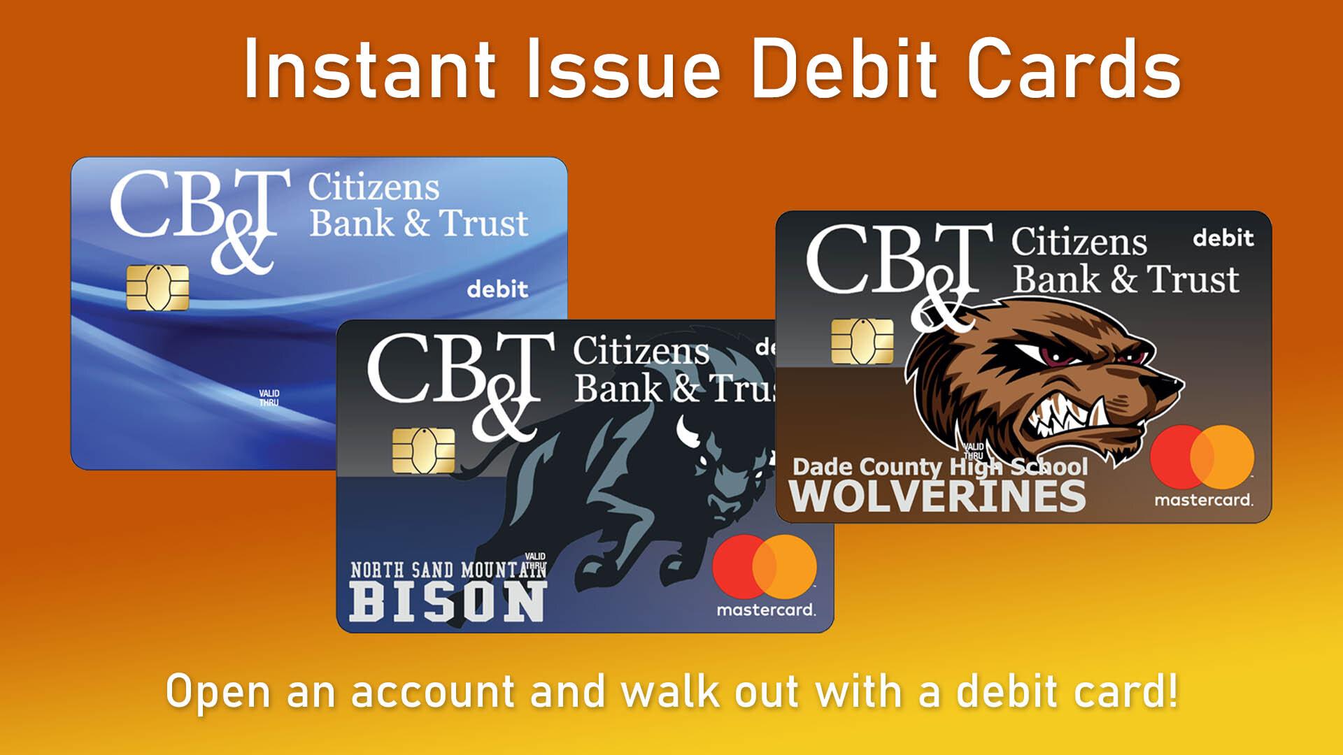 examples of debit cards