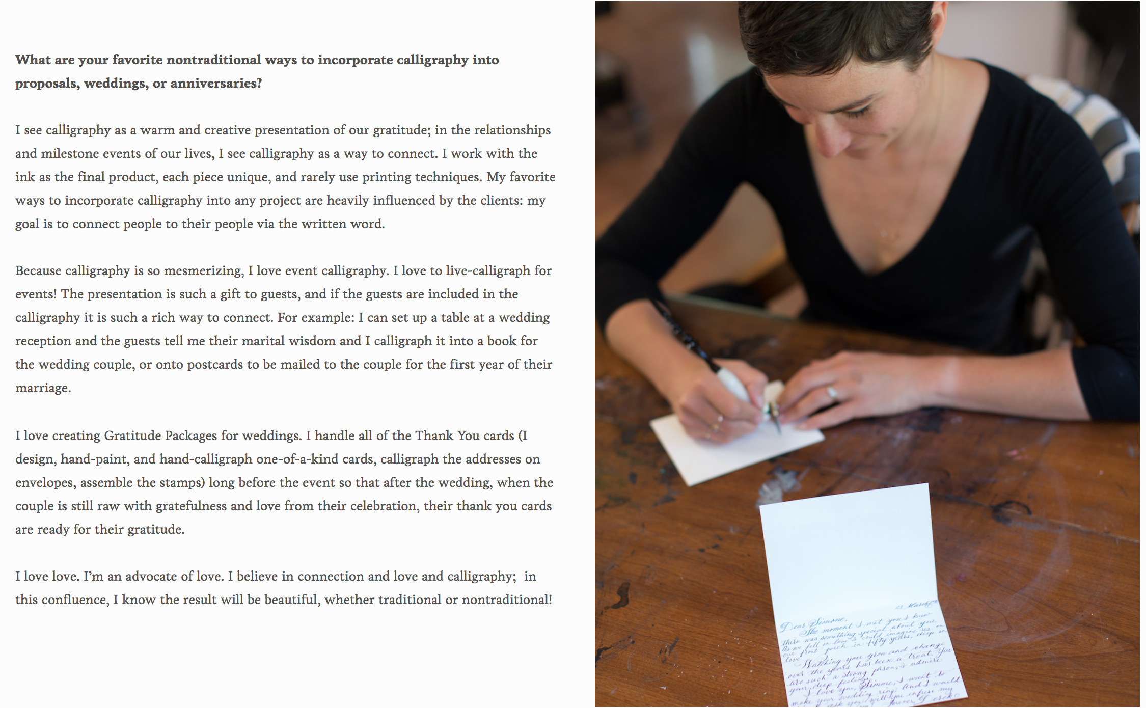 with these rings interview with lindsey wayland, press