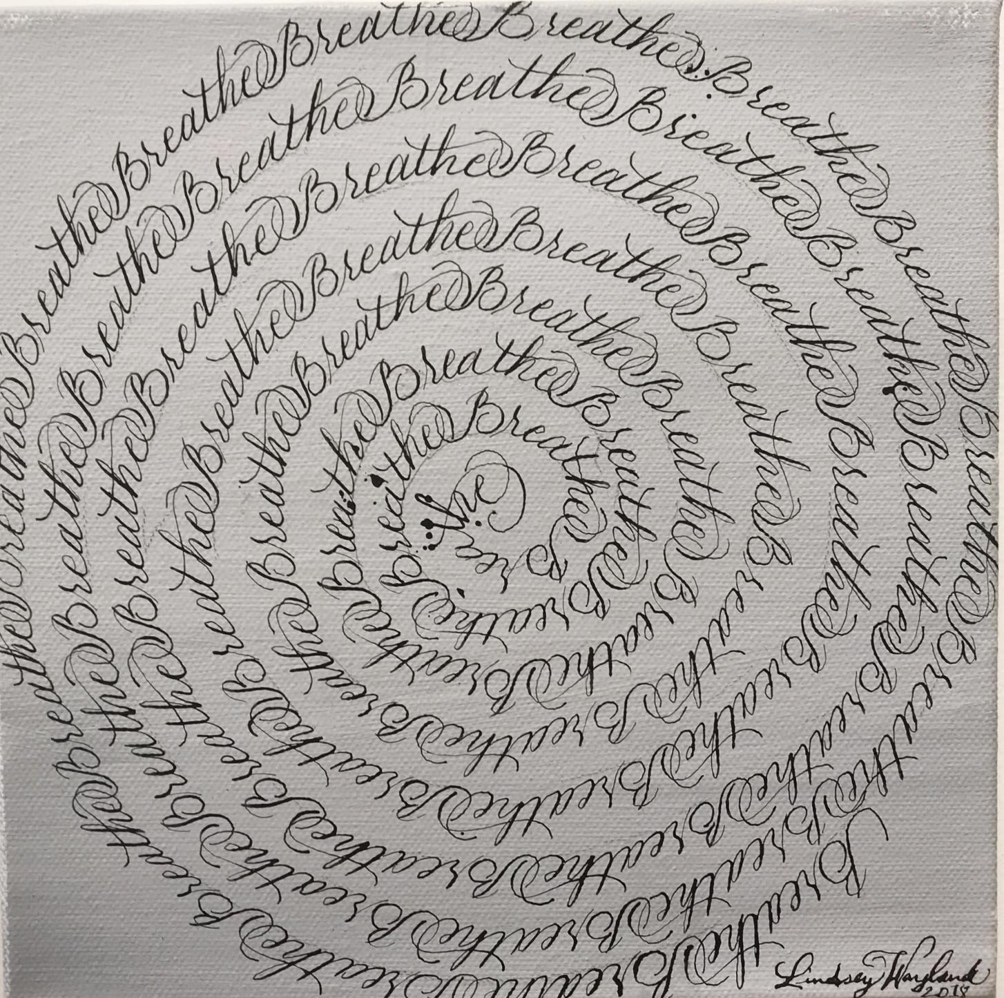 """A Sailor's Finger Glides the Chart"" Lindsey Wayland"