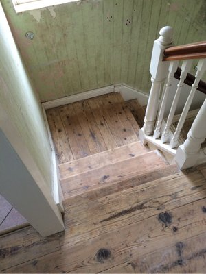 STAIR RESTORATION - October 2015 — Confessions of a House Hunter