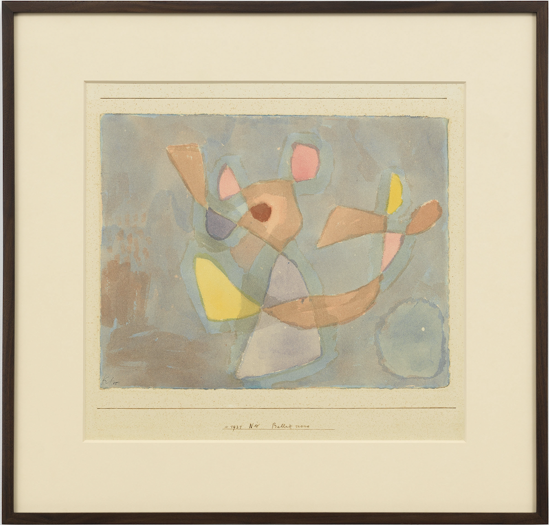 Paul Klee, Ballet Scene, Watercolor on paper, 1931