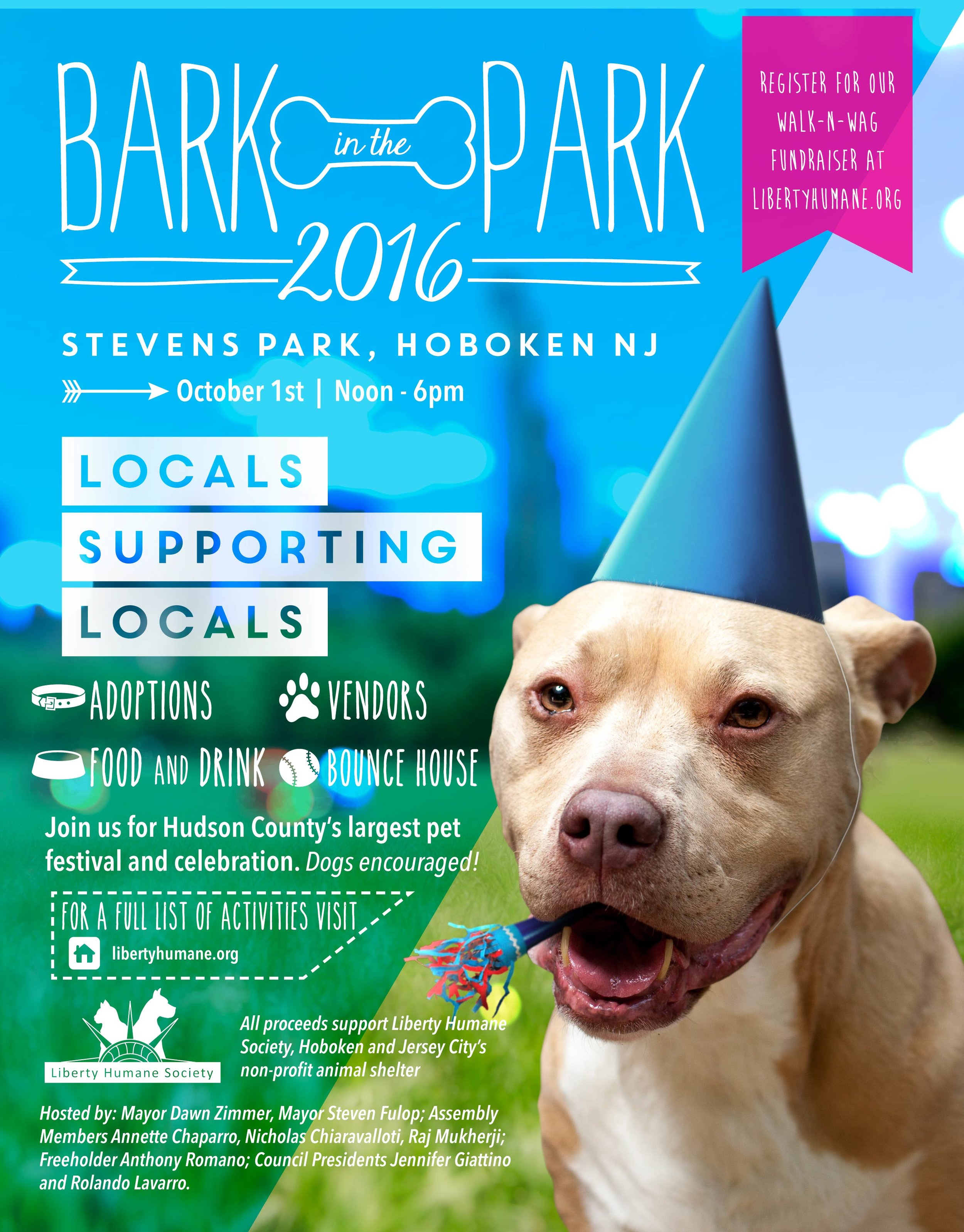 Visit http://www.libertyhumane.org/ for more information about the event and ways that you can donate to this fantastic organization!