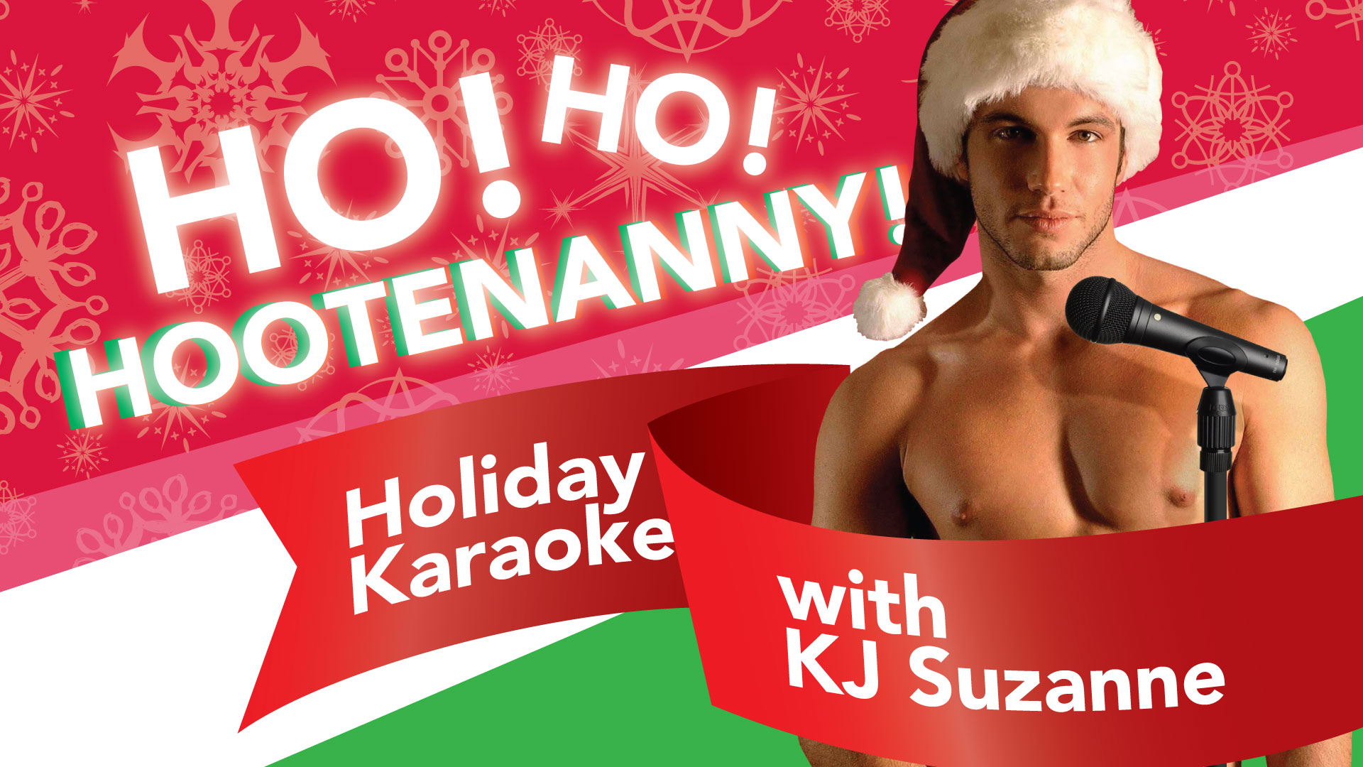 The Holidays can be such a pain in the fanny, so skip the drama for Ho! Ho! Hootenanny! Holiday Karaoke with KJ Suzanne, plus Happy Hour from 4 - 8pm. S.I.N. Specials from 9 to Midnight, and some festive cheer to make you feel right. So if you're wanting to go out this Christmas Eve day, Head down to Scandals to Drink and be Gay.   Make sure to join the event on facebook here!