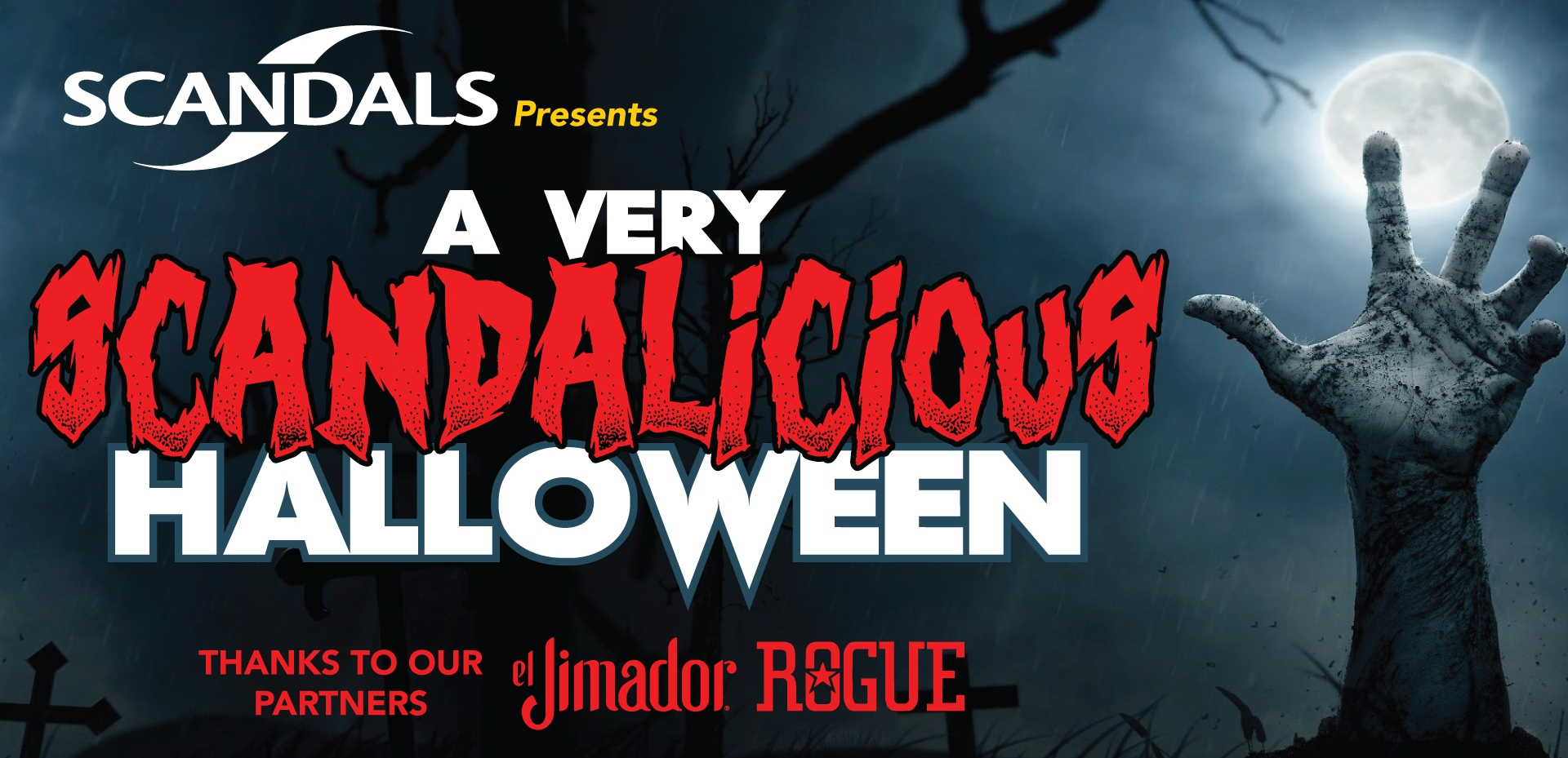 Halloween is one of our favorite holidays and this year we have some new treats to share with all of you! Stop in from 4pm - 8pm for Happy Hour and get El Jimador tequila for only $3 ($5 regular well price) and Dead Guy Ale from Rouge for only $3 a 12oz. can!  We will have a costume contest at 9pm and from 9pm - 1am DJ ROBB will be spinning hits along with their music videos! Come in early and stay all night! Hope to see you there!   Make sure to join the event on our facebook page here!