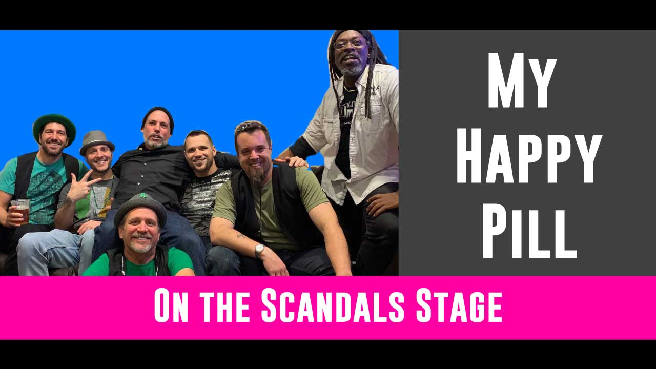 Dance your booty off with the amazingly talented and sexy group, My Happy Pill! They will be rocking your socks off from 6 to 8pm!   Click here for more on MHP!