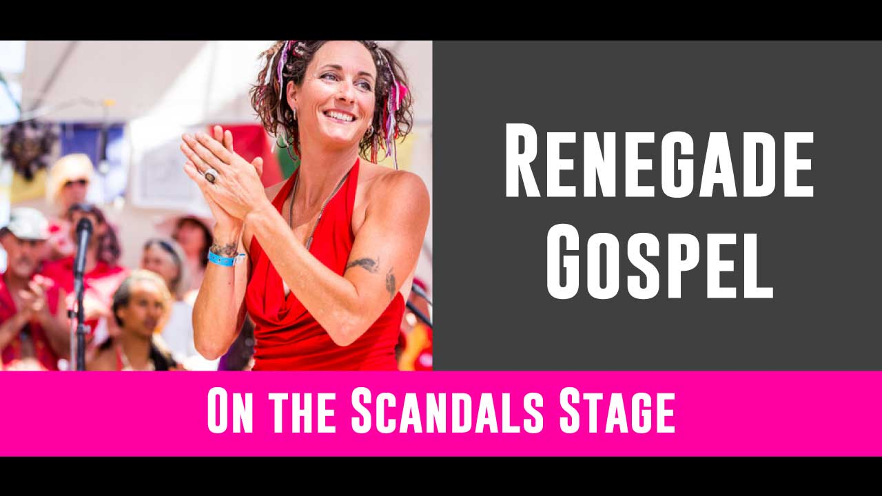 Blurring the lines between jazz, songwriting, rock and soul, Renegade Gospel will have you begging for more! They're on the Scandals stage from 3 - 3:30pm!