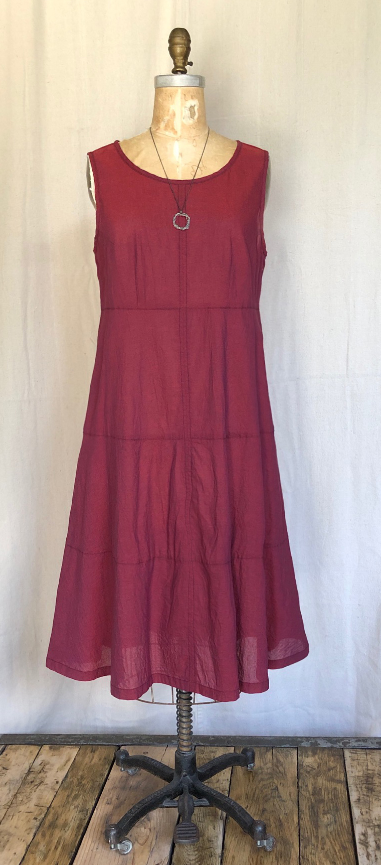 sp19red tiers dress.jpg