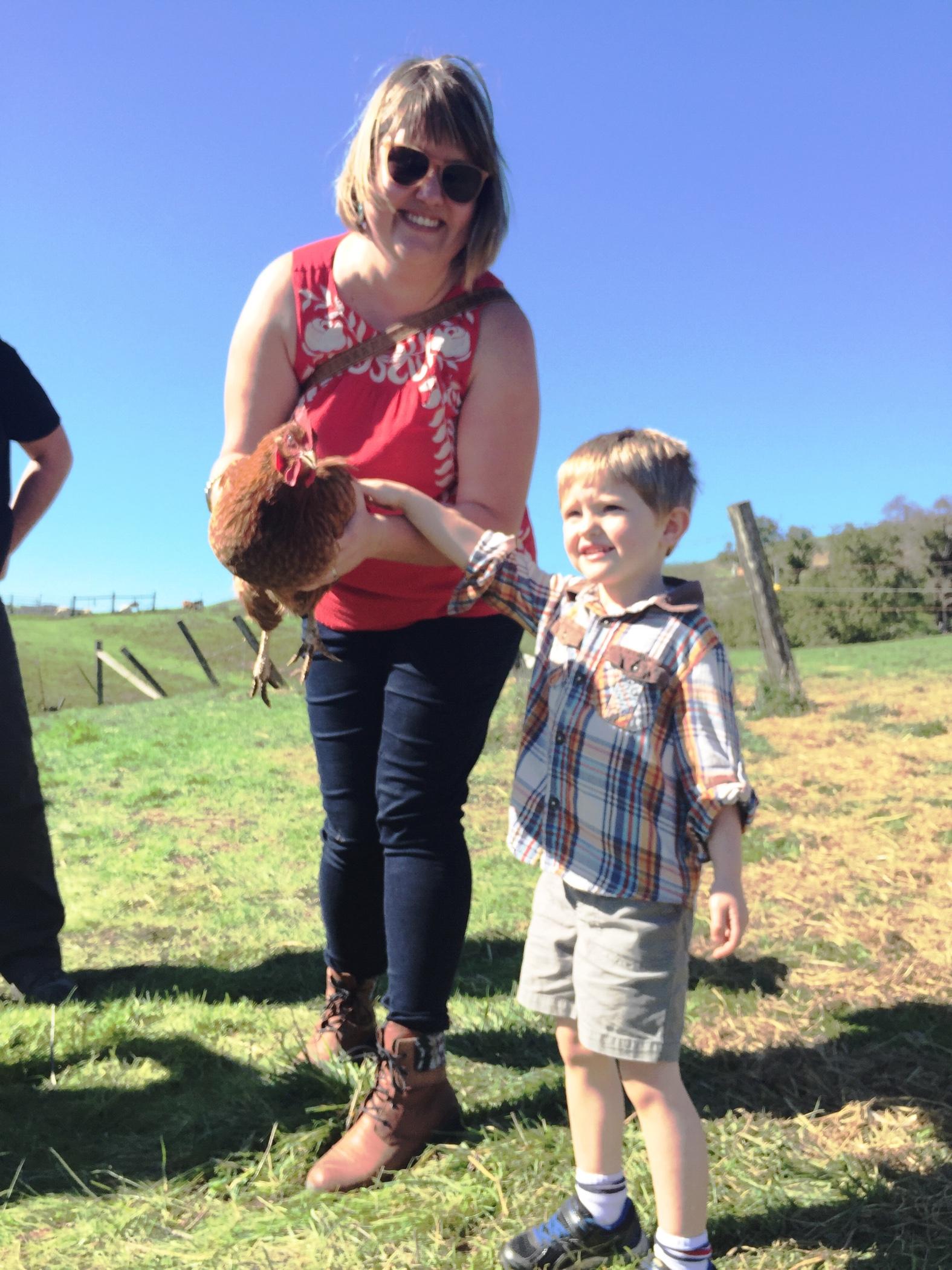 lukeandJ_holding_chicken