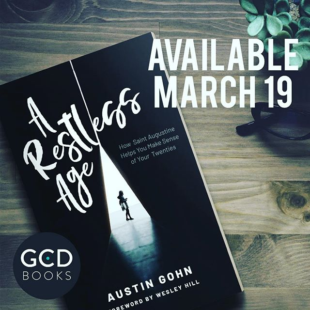 Happy to endorse and recommend @austingohn new book - AVAILABLE TODAY. Wonderful work on processing restlessness through the eyes of St. Augustine. Well worth your time!