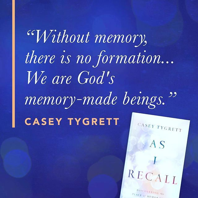 So excited to share this new work with you. My prayer is that it gives light to some dark places in our past... #asirecall // Releases April 9.  Pre-order on Amazon or IVPress.com!  https://amzn.to/2VbxEUt