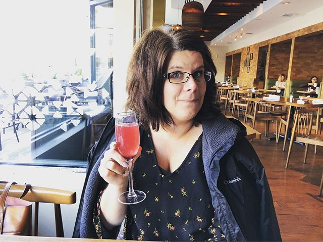"I love this woman. Every year she splits (translation ""surrenders"") Mother's Dayfor the sake of B's birthday. She is the epitome of a selfless person, and to be a part of the world where she weaves her art of life is a true, true blessing. Happy Early Mother's Day, @hrtygrett // Mimosas on Friday with you? Anytime. #mothersdayearly"