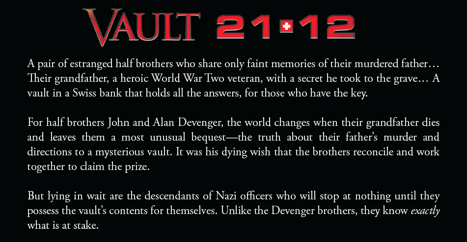 Vault 21-12 synopsis