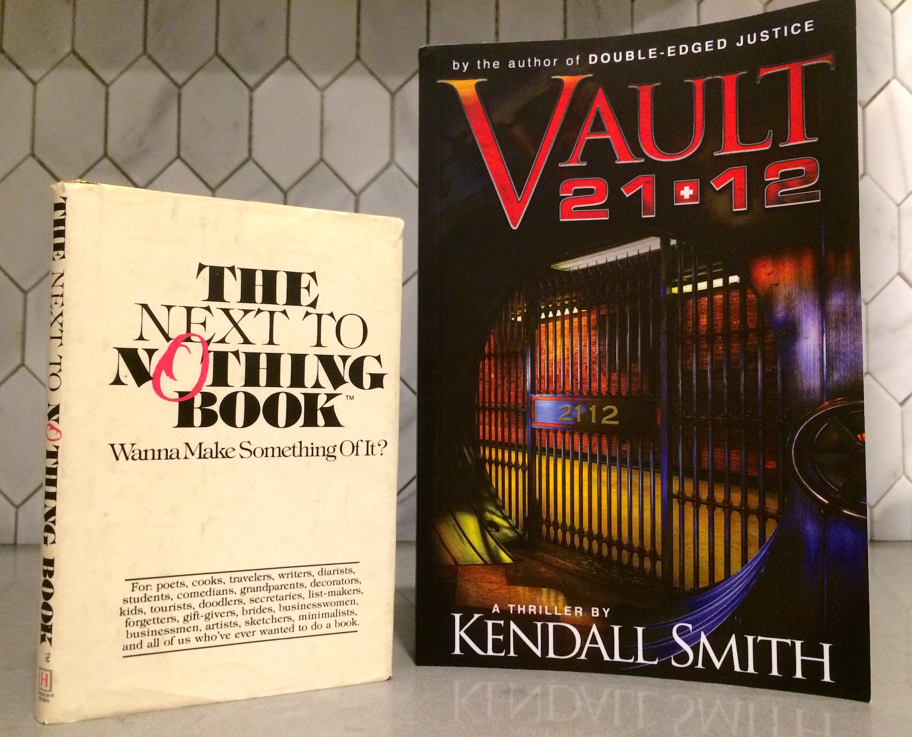 A book that inspired the author, and his latest thriller, Vault 21-12