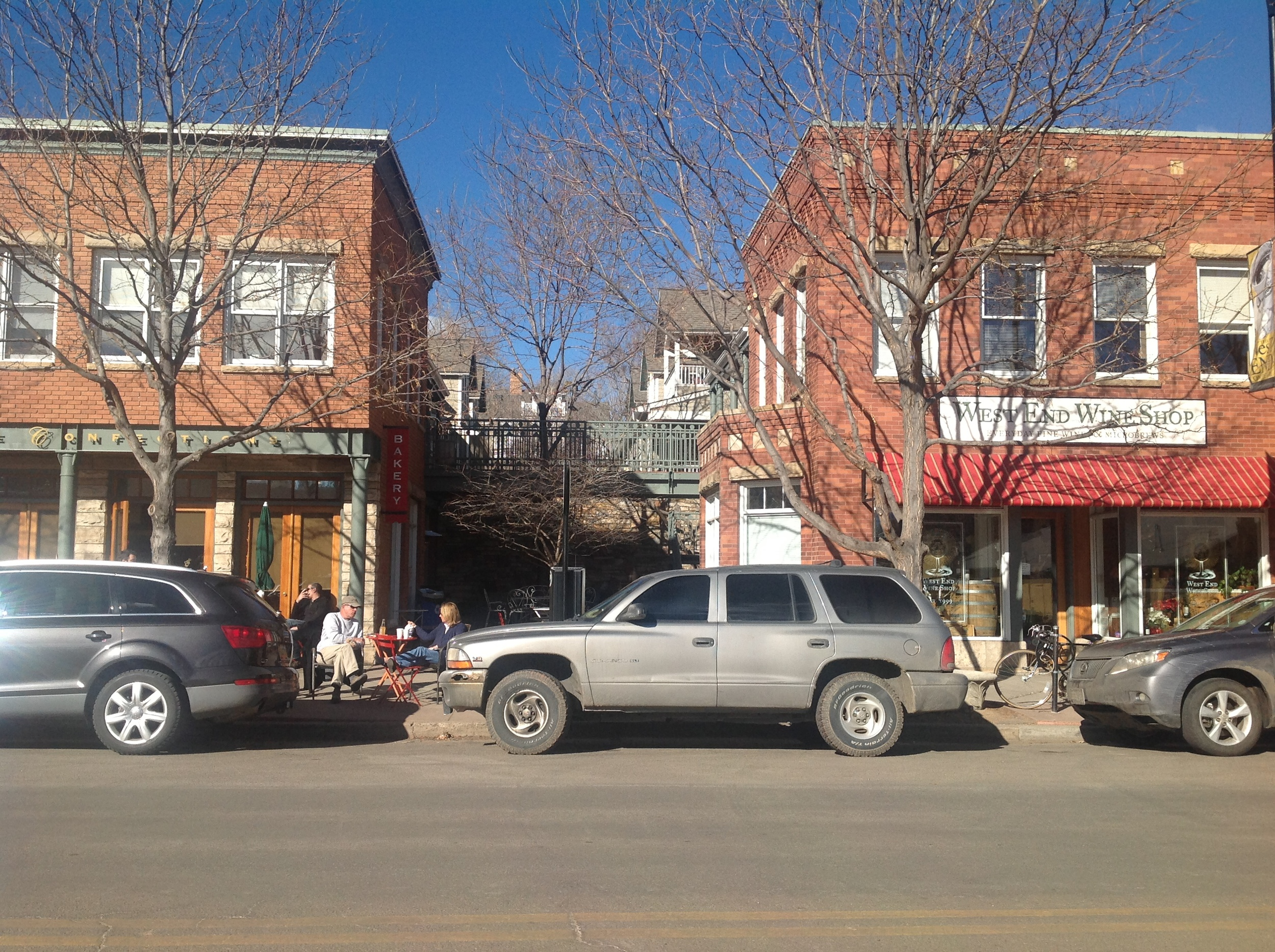 Boulder Writing Studio is located at 777 Pearl St, above The West End Wine Shop
