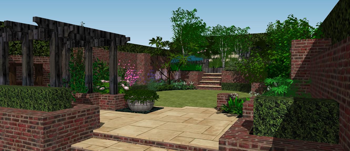 3d garden design belfast irish garden plant society