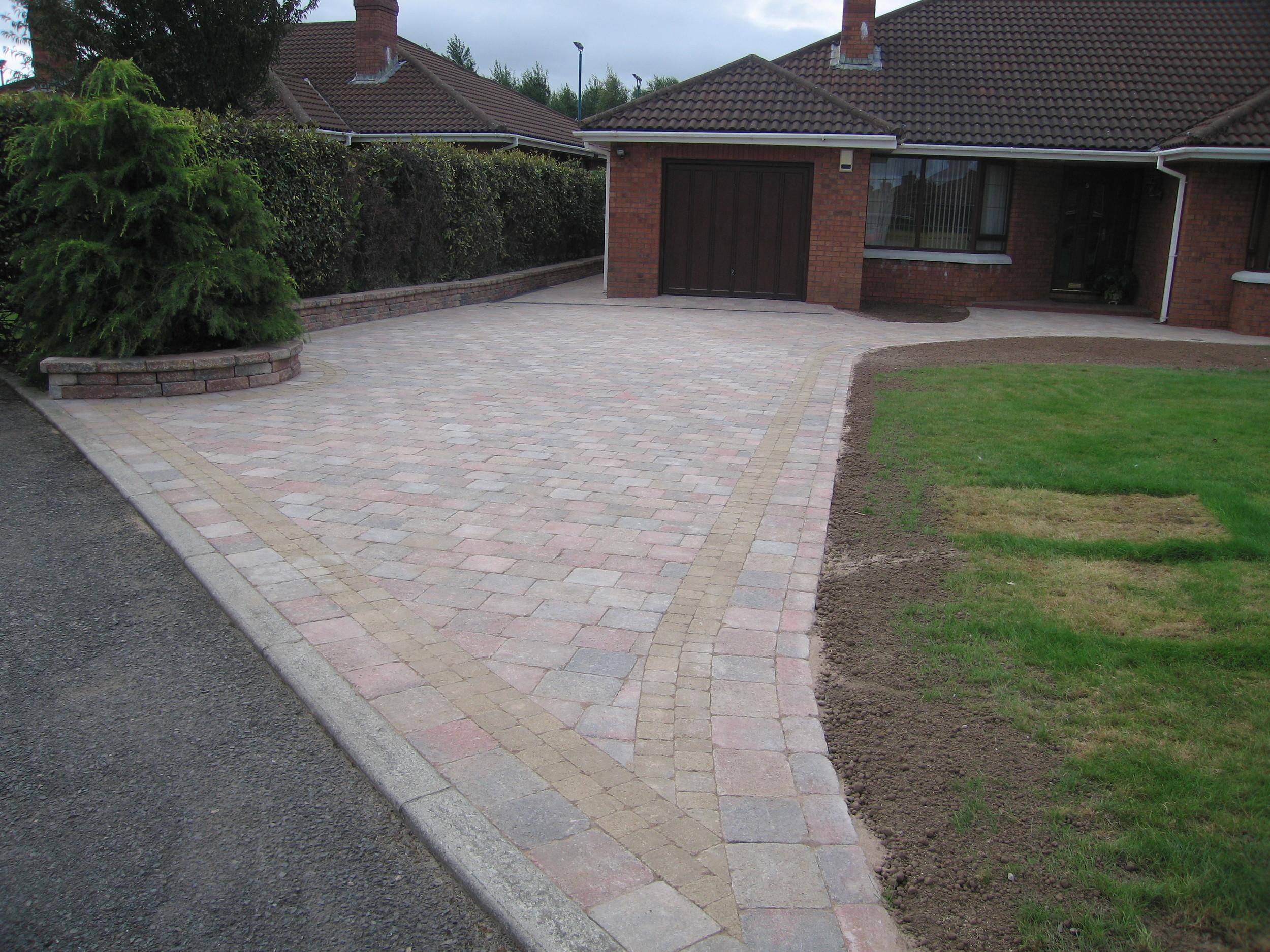 tegula paving contractor belfast driveway