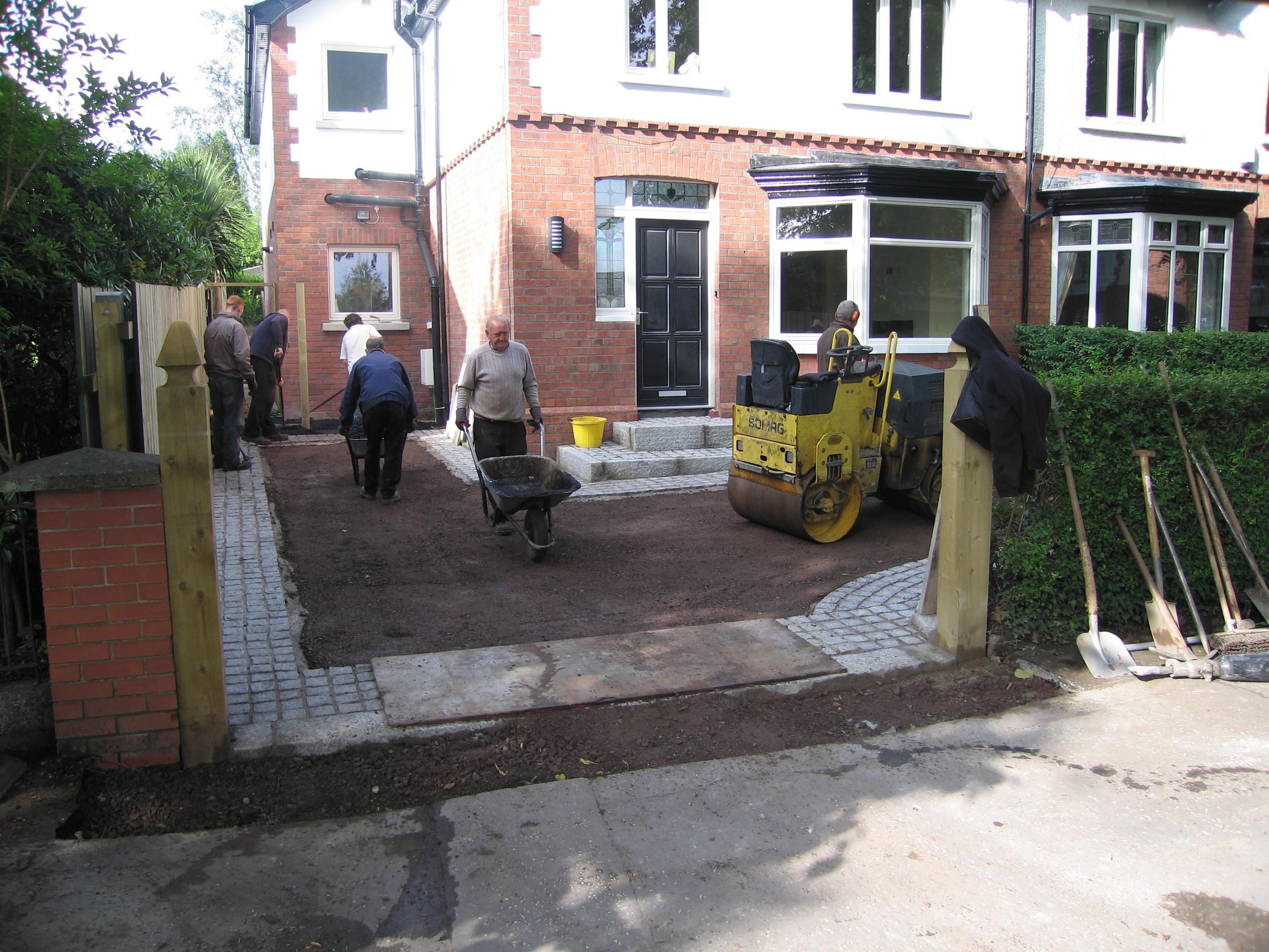 tarmac driveway contractor belfast