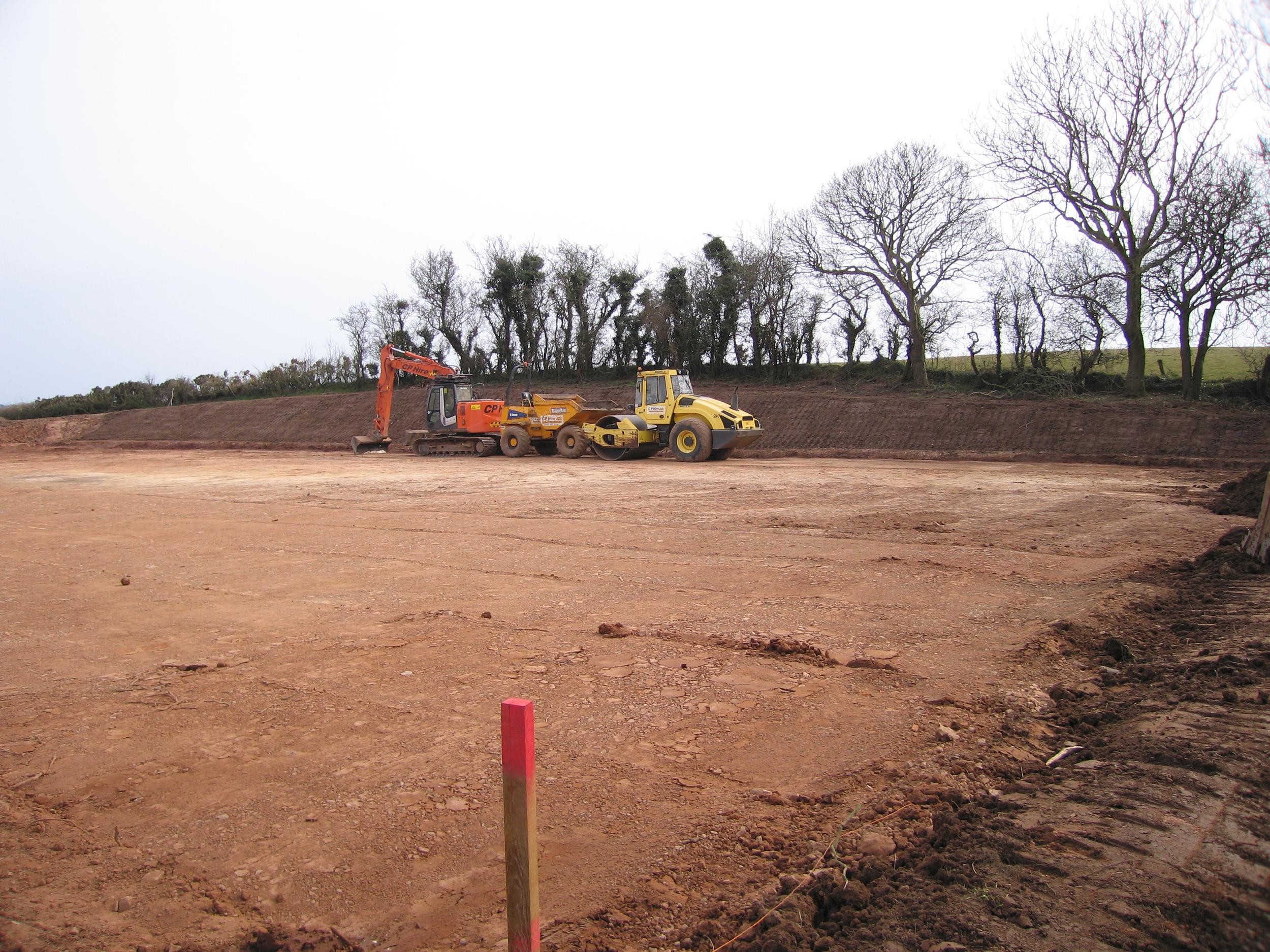 equestrian arena groundworks excavation ireland