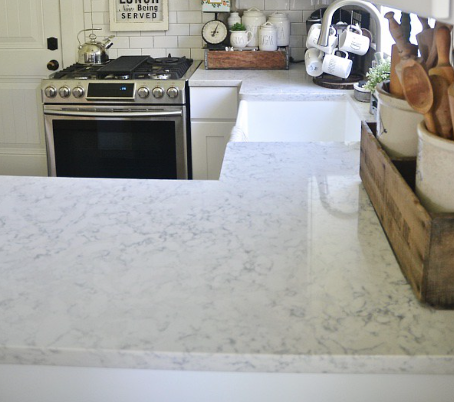 quartz countertops pedigo construction